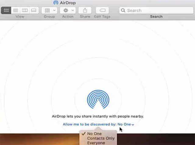 How to AirDrop from iPhone to Mac (Transfer Files, Photos, Documents) - Mac AirDrop Choose Everyone