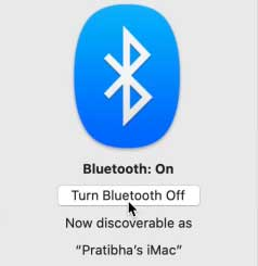 How to Fix AirDrop Not Working on Mac - Bluetooth