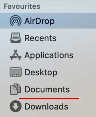 How to Fix AirDrop Not Working on Mac - Check Download Folder