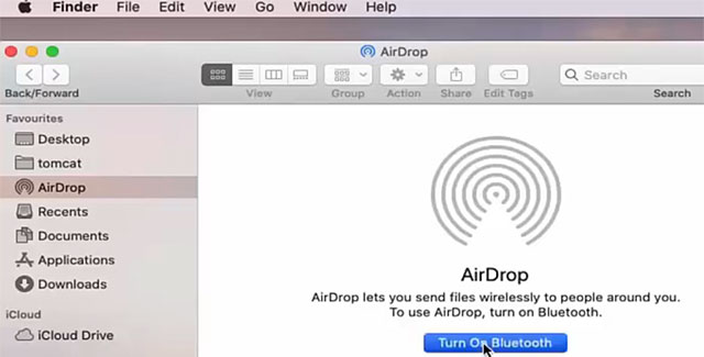 How to AirDrop from iPhone to Mac (Transfer Files, Photos, Documents) - Mac AirDrop Bluetooth