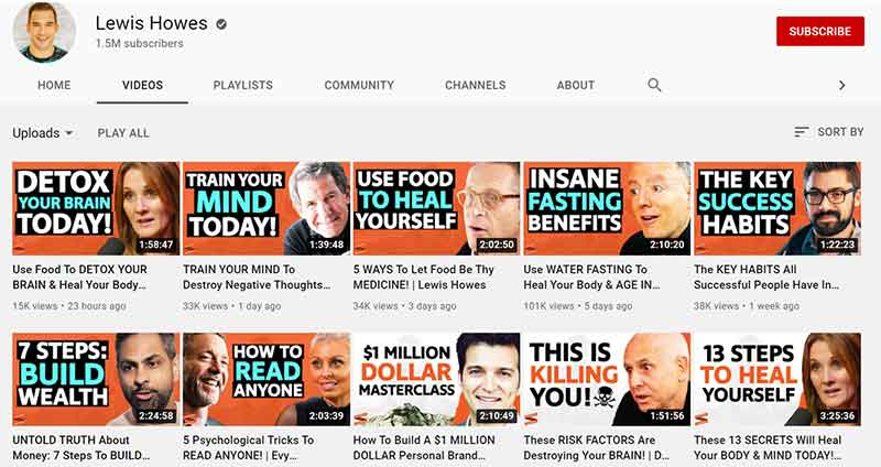 How to Make Money on YouTube: You can sell Services - Lewis Howes