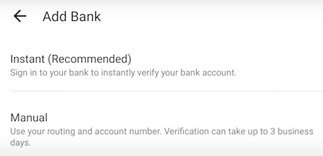 How to Use Venmo: Send and Receive Money - Add Bank