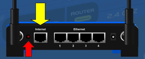 Fix Facebook Pictures Not Loading on Computer, Android or iPad - Reset Wi-Fi Router