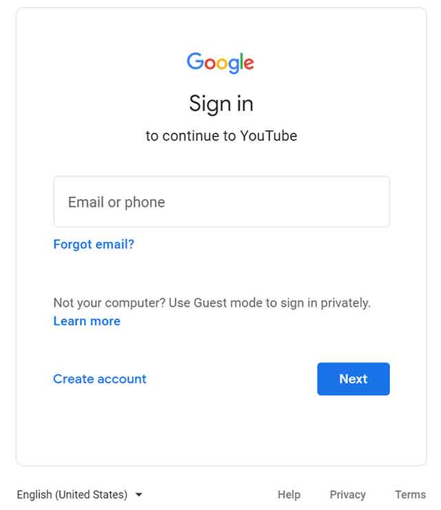How to Create a YouTube Channel: Create Your Google Account