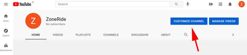 How to Create a YouTube Channel: Channel Customization