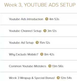 Super Affiliate System Review: Week 3, YouTube Ads Setup