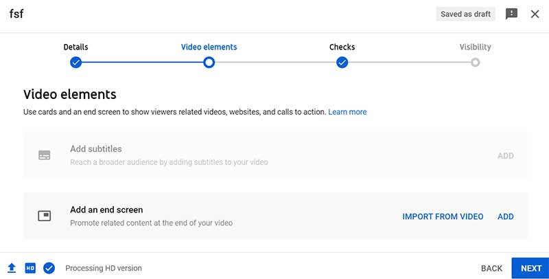 How to Create a YouTube Channel: Upload a Video on YouTube - Video Elements